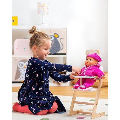 myToys »Holz Puppenhochstuhl« Puppenbett