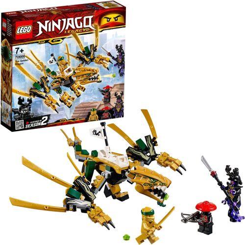 Lego Konstruktionsspielsteine »Goldener Drache (70666), NINJAGO®«, (171 St)