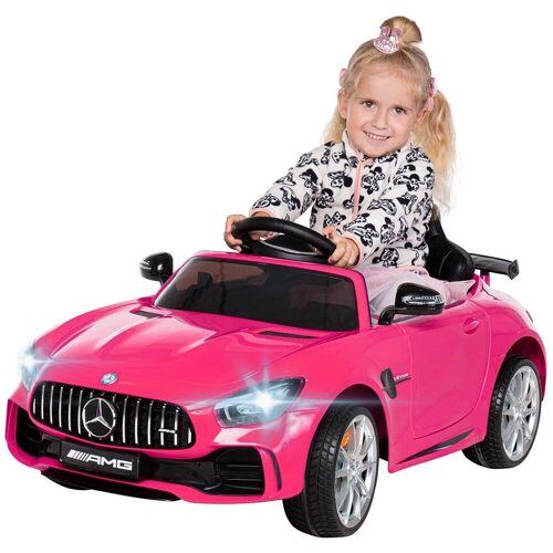 Actionbikes Motors Spielzeug-Auto »Kinder Elektroauto Mercedes Benz GT-R AMG«, inkl. Fernsteuerung, Pink