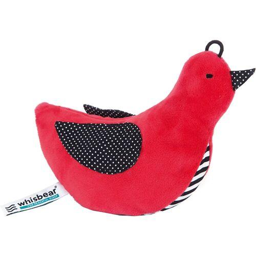 Whisbear Einschlafhilfe Whisbird, rot, rot