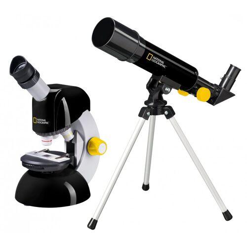 NATIONAL GEOGRAPHIC Teleskop und Mikroskop »Einsteiger Teleskop und Mikroskop Set«