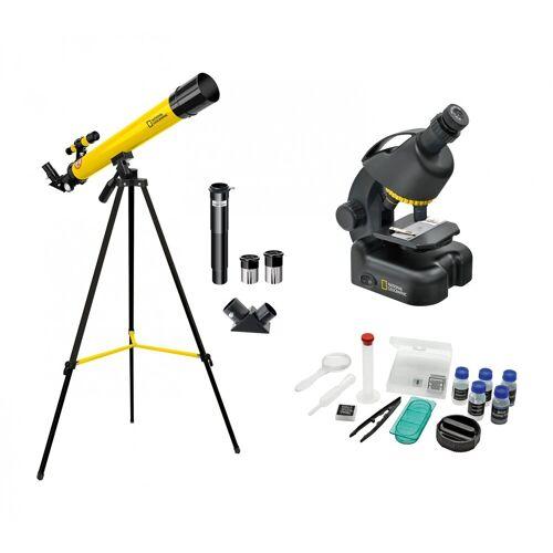 NATIONAL GEOGRAPHIC Teleskop und Mikroskop »Teleskop und Mikroskop Set für Einsteiger«