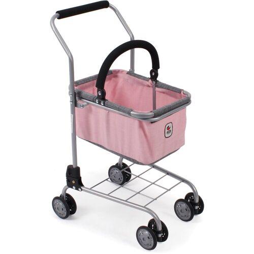 CHIC2000 Spiel-Einkaufswagen »Kinder Einkaufswagen, grau-rosa«