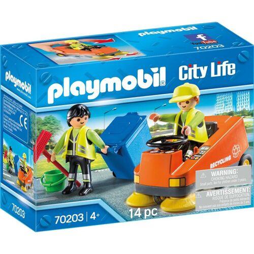 Playmobil Konstruktions-Spielset »Kehrmaschine (70203), City Life«, (14 St)
