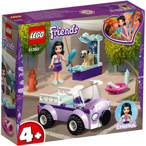 Lego 41360 Friends: Emmas mobile Tierarztpraxis