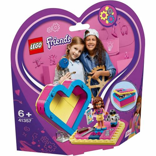 Lego 41357 Friends: Olivias Herzbox