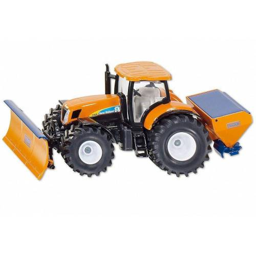 Siku Spielzeug-Auto »2940 Traktor New Holland mit Räumschild 1:50«