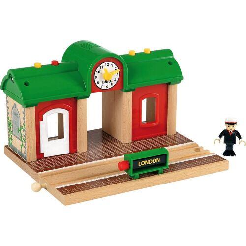 Brio Spielzeug-Eisenbahn »Sprechender Bahnhof«