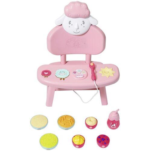 Baby Annabell »Lunch Time Tisch« Puppenhochstuhl, mit Licht- und Soundeffekten
