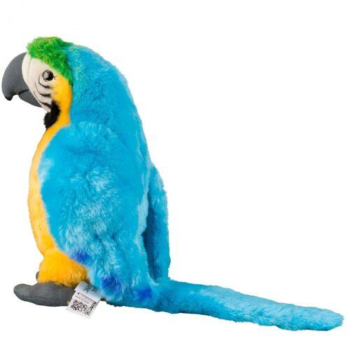 NATIONAL GEOGRAPHIC Kuscheltier »Plüschtier-Papagei«, blau