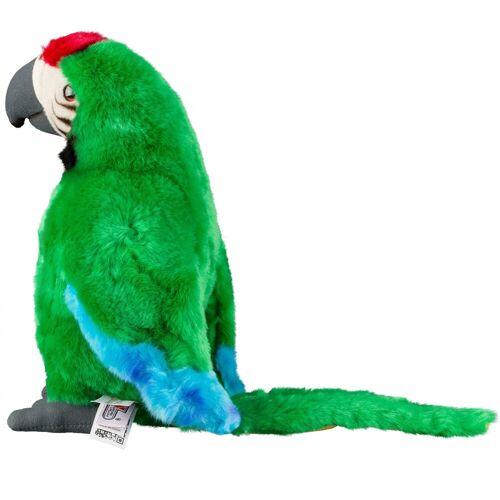 NATIONAL GEOGRAPHIC Kuscheltier »Plüschtier-Papagei«, grün