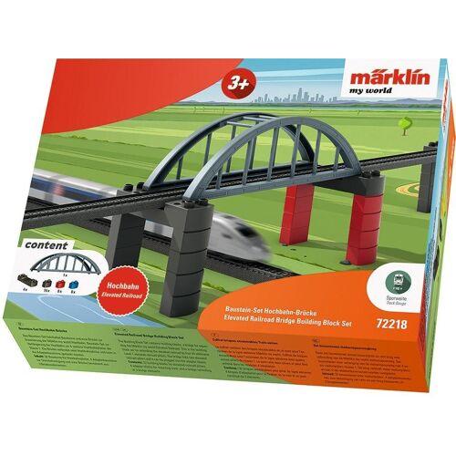 Märklin Modelleisenbahn-Hochbahn »my world - Baustein-Set Hochbahn-Brücke - 72218«, Spur H0