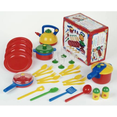 Klein Kinder-Küchenset »Emma's Kitchen Topfset groß«, Made in Germany