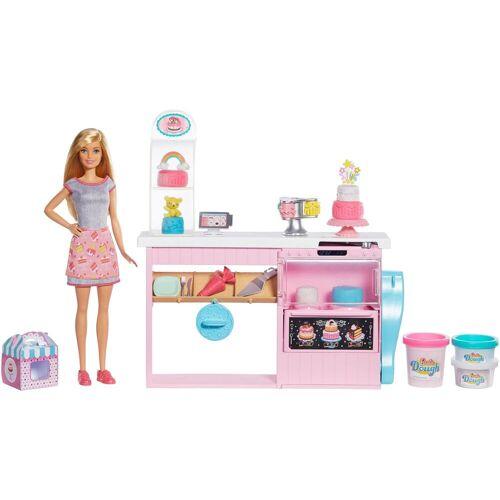 Mattel Anziehpuppe »Barbie Tortenbäckerei Spielset mit Puppe, blond«