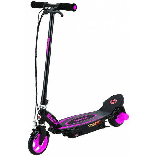 Razor E-Scooter »Power Core E90 Electric Scooter«, 16 km/h, schwarz-pink