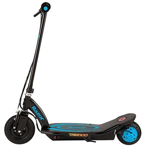 Razor E-Scooter »Power Core E100 Electric Scooter«, 18 km/h, blau-schwarz