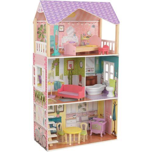 KidKraft® Puppenhaus »Poppy Puppenhaus«, inklusive Möbel