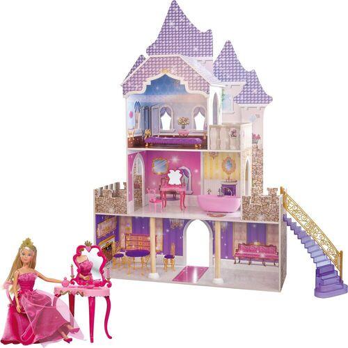 Eichhorn Puppenhaus »Großes Puppenschloss + Gratis Steffipuppe«
