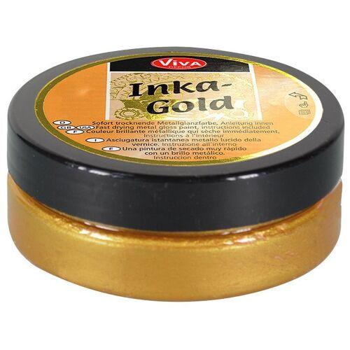 """Viva Decor Effektfarbe """"Inka Gold"""" 62,5 g, Altgold"""