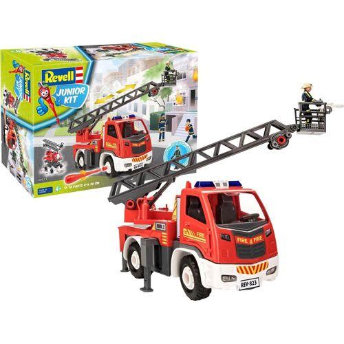 Revell® Modellbausatz »Junior Kit, Drehleiterwagen«, (69-tlg)