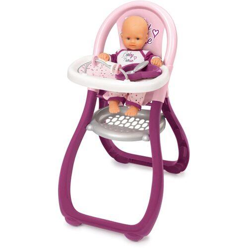 Smoby »Baby Nurse Puppenhochstuhl« Puppenhochstuhl, Made in Europe