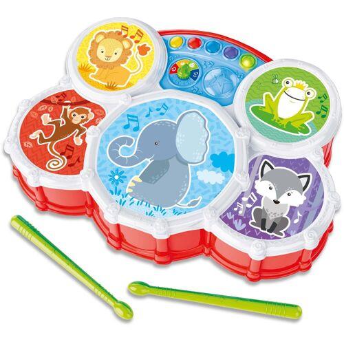 Clementoni® Spiel-Schlagzeug »Baby, Interaktives Schlagzeug«