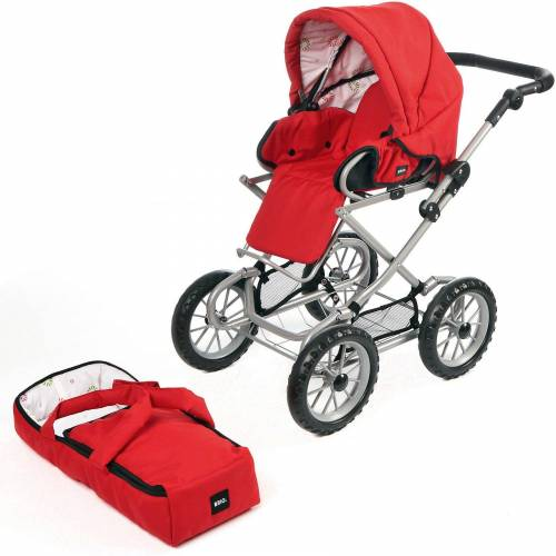 Brio Puppenwagen Combi, rot