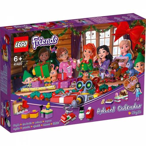 Lego Spiel, »Friends 41420 Friends Adventskalender«