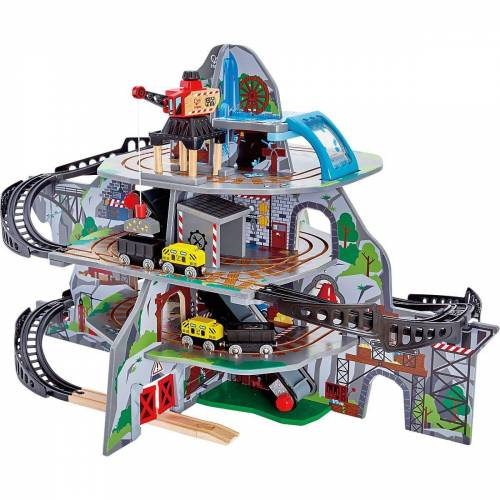 Hape Spielzeugeisenbahn-Set »Riesige Bergmine«