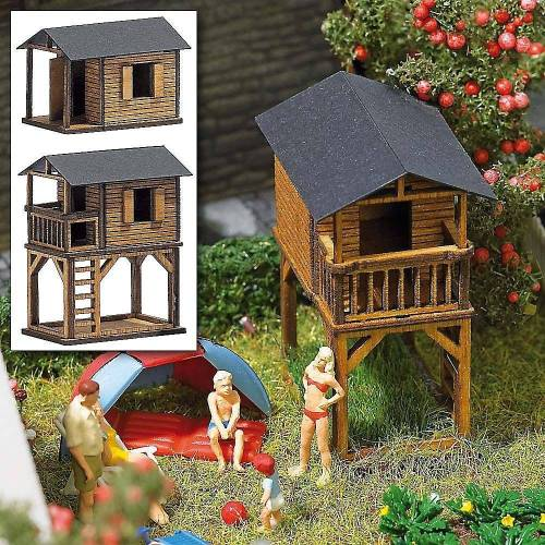 Busch Modellbausatz »Spielhäuser H0«