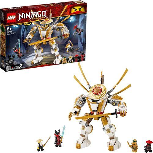 Lego Konstruktionsspielsteine »Goldener Mech (71702), NINJAGO®«, (489 St)