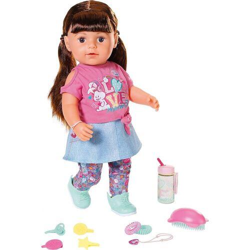 Zapf Creation® Babypuppe »BABY born® Soft Touch Sister brünett 43 cm«