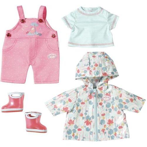 Zapf Creation® Puppenkleidung »Baby Annabell® Deluxe Regen Set« (Set, 5-tlg)