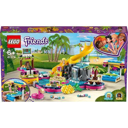 Lego Konstruktions-Spielset »Friends 41374 Andreas Pool-Party«