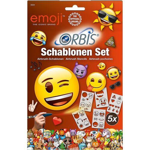 Revell® Dekorierstift »Orbis 30224 Airbrush Schablonen Set Emoji«