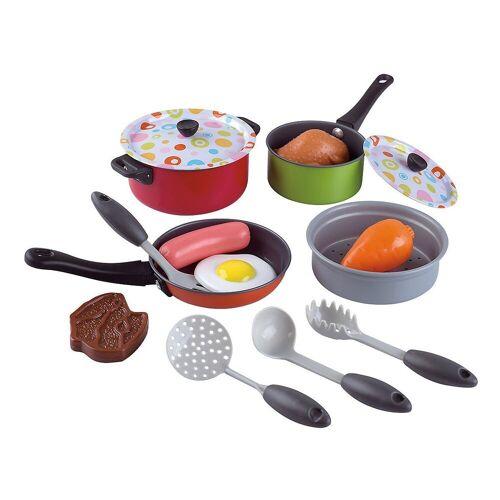Playgo Spielgeschirr »Kochgeschirr für Spielküche, 15 Teile«