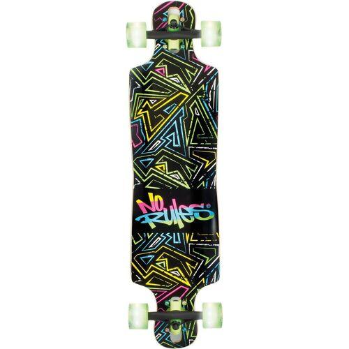 No Rules Longboard »Longboard ABEC 7 Neon mit Leuchtrollen«