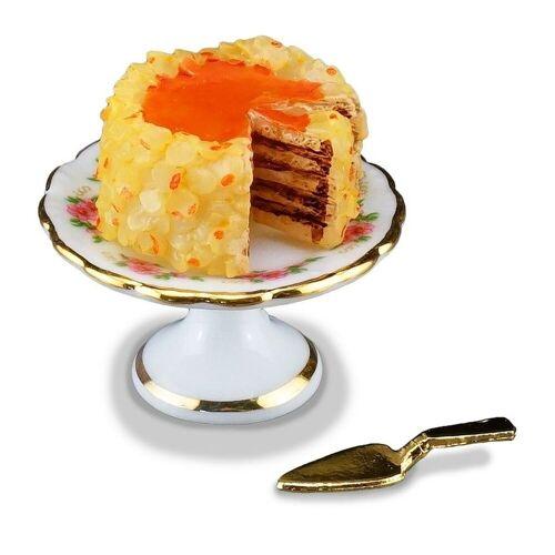 Reutter Porzellan Puppenhaus »Miniaturen - Nusstorte Torte Kuchen 1.660/5 Puppenstube Deko«