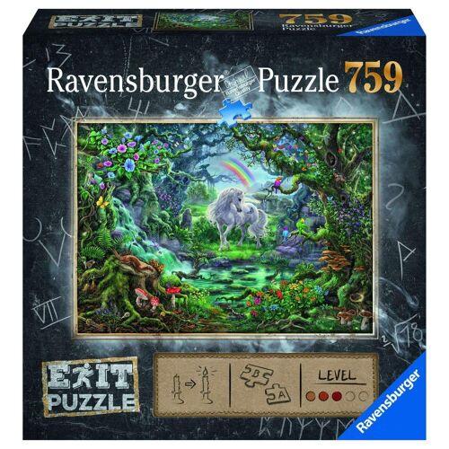 Ravensburger Puzzle »Exit Puzzle Einhorn«, 759 Puzzleteile