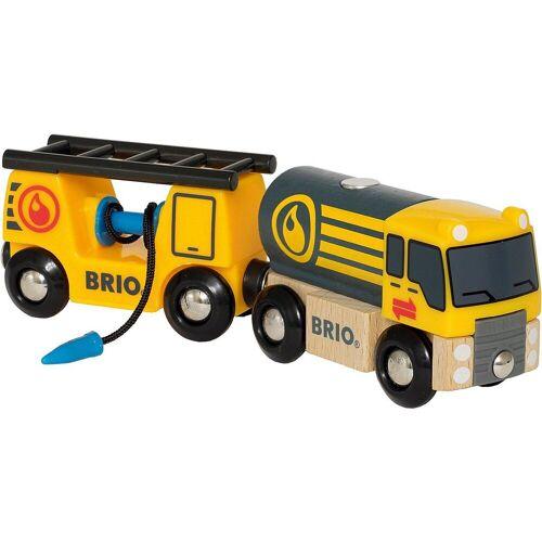 Brio Spielzeug-Eisenbahn »Tankwagen mit Anhänger«