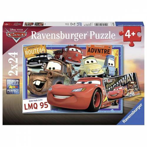Ravensburger Puzzle »2er Set Puzzle, je 24 Teile, 26x18 cm, Disney Cars«, Puzzleteile