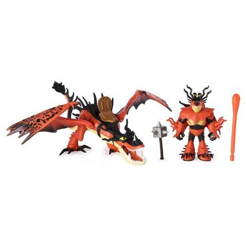Spin Master Actionfigur »Drachenreiter Rotzbakke und Hakenzahn«