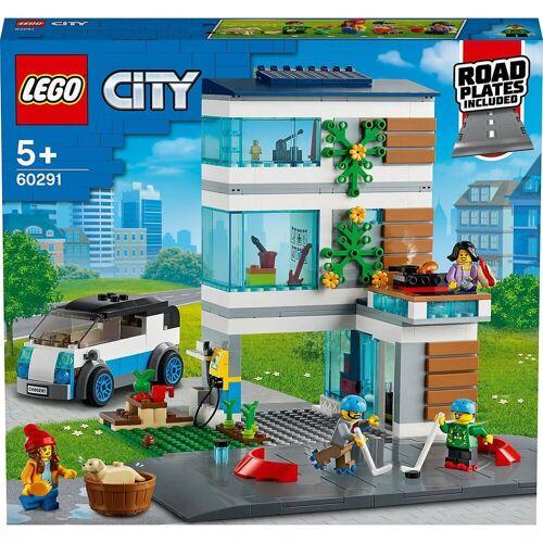 Lego Konstruktions-Spielset »City 60291 Modernes Familienhaus«