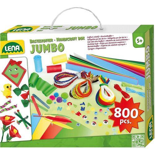 Lena® Kreativset »Bastelkoffer Jumbo, 800 Teile«