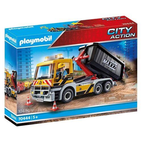 Playmobil Spielzeug-LKW »70444 - City Action - LKW mit Wechselaufbau«