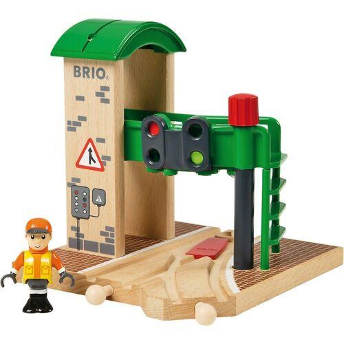 Brio Spielzeug-Eisenbahn »Signalstation«