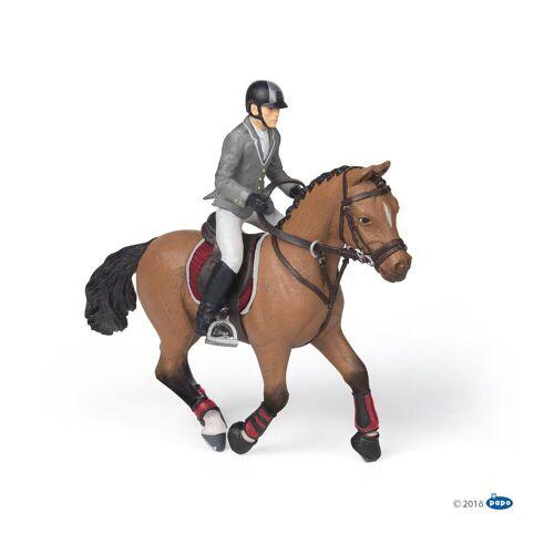 papo Spielfigur »Wettkampf Pferd und Reiter«