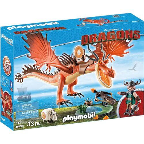 Playmobil Spielfigur »9459 Dragons: Rotzbakke und Hakenzahn«