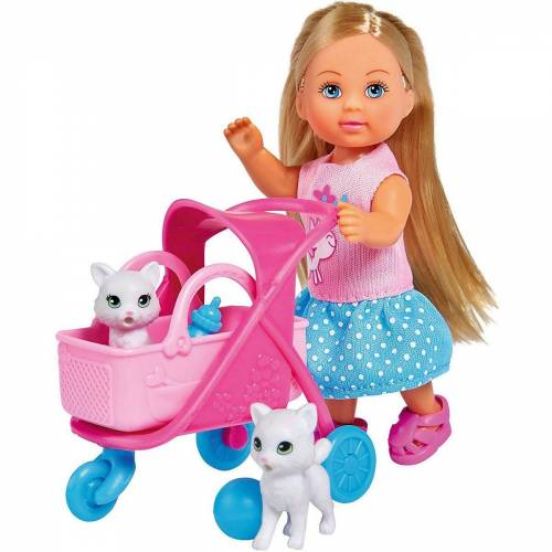 SIMBA Sammelfigur »Evi LOVE Cat Buggy«