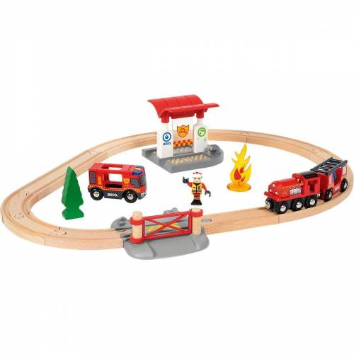 Brio Spielzeugeisenbahn-Set »Bahn Feuerwehr Set«